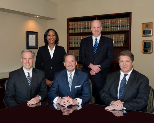 Picture of the Court of Chancery Chancellor and the four Vice Chancellors