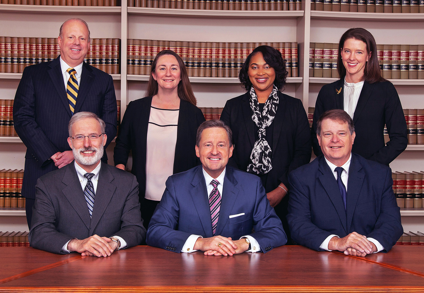 Picture of the Court of Chancery Chancellor and the six Vice Chancellors