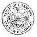 Court of Chancery Seal in black and white