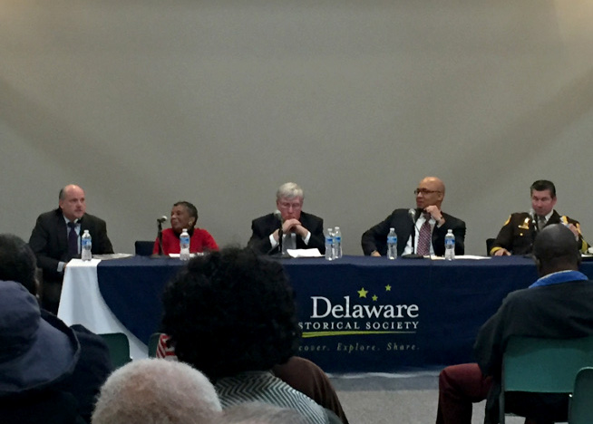 Chief Justice Strine participates in Delaware Historical Society panel discussion about race